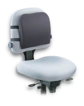 Image for Kensington Back Rest Memory Foam Washable Removable AusPCMarket