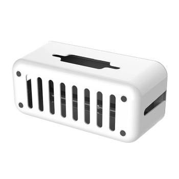 Orico Storage Box for Surge Protectors and Power Boards - Grey/White Product Image 2