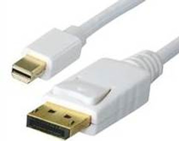 Image for Astrotek Mini Display Port to Display Port 2.0m Gold Plated Cable - White AusPCMarket