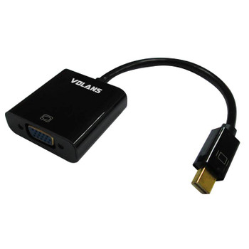 Image for Volans Mini DisplayPort (1.1) to VGA Male-Female Converter Cable AusPCMarket