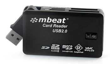 Image for mBeat USB 2.0 All In One Card Reader AusPCMarket