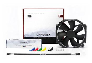 Noctua 140mm (120mm mounting) NF-A15 HS-PWM chromax.black.swap 1500RPM Fan Product Image 2