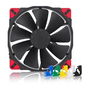 Image for Noctua 200mm NF-A20 PWM chromax.black.swap 800RPM Fan AusPCMarket