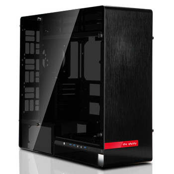 Image for In Win 909 Tempered Glass Full-Tower E-ATX Case - Black AusPCMarket