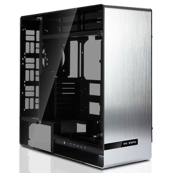 Image for In Win 909 Tempered Glass Full-Tower E-ATX Case - Silver AusPCMarket