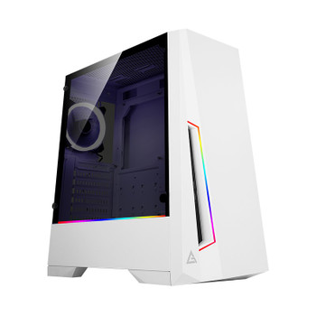 Image for Antec DP501 ARGB Tempered Glass Mid-Tower ATX Case - White AusPCMarket