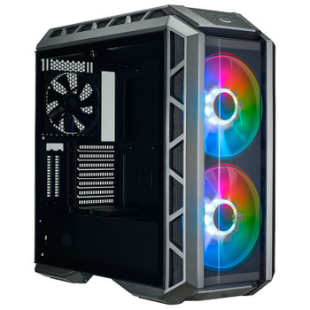 Image for Cooler Master Mastercase H500P ARGB Tempered Glass Mid-Tower ATX Case - Black AusPCMarket