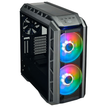 Cooler Master Mastercase H500P ARGB Tempered Glass Mid-Tower ATX Case - Black Product Image 2
