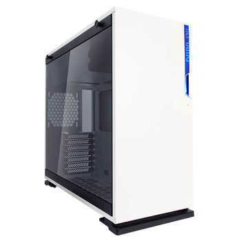 Image for In Win 101C Tempered Glass RGB Mid-Tower ATX Case - White AusPCMarket