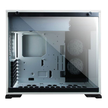 In Win 101C Tempered Glass RGB Mid-Tower ATX Case - White Product Image 2