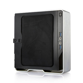 In Win Chopin Mini-ITX Case with 150W PSU - Silver Product Image 2