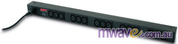 APC Rack PDU Basic Zero U 10A 230V (15)C13 (AP9568) Product Image 2