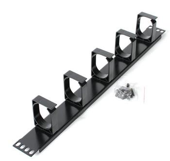 Image for Astrotek Black 1U cable management , metal bracket AusPCMarket