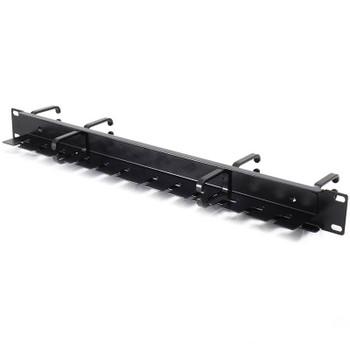 Alogic Serverdge 1RU 19in Horizontal Double Sided Cable Management Rail Slot/Ring Product Image 2