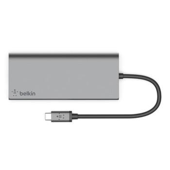 Belkin 4 Port USB-C Multimedia Hub/Dock Product Image 2