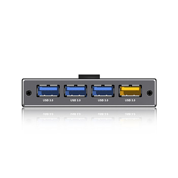 Icy Box IB-AC611 4 Port USB 3.0 Hub with USB Charge Port Product Image 2