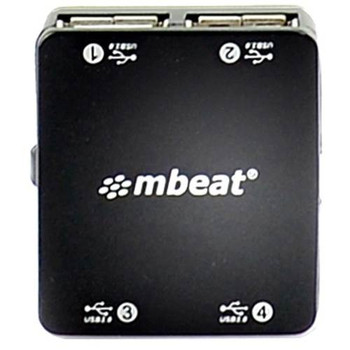 mBeat 4 Port USB 2.0 Hub - USB-UPH110K Product Image 2