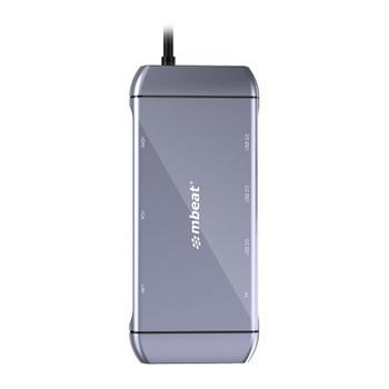 mBeat Elite X9 9-in-1 Multifunction USB-C Docking Station Product Image 2