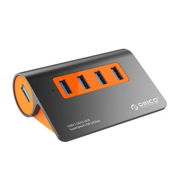 Image for Orico 4-Port USB3.1 Gen2 Hub - Orange AusPCMarket