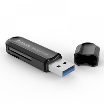 Orico CRS21 USB 3.0 TF & SD Card Reader - Black Product Image 2