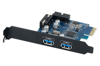 Image for Orico PVU3-2O2I 4-Ports USB 3.0 PCI-E Express Card AusPCMarket