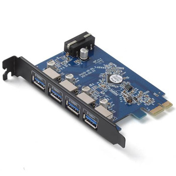 Image for Orico PVU3-4P 4-Port USB 3.0 PCI Express Card AusPCMarket