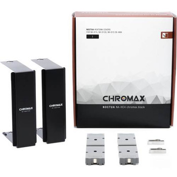 Image for Noctua Chromax.Black Heatsink Cover For NH-D15 Series AusPCMarket