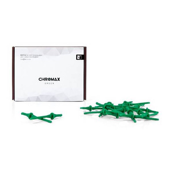 Noctua NA-SV2 Chromax.Green Anti-Vibration Fan Mounts (20-Pack) - Green Product Image 2