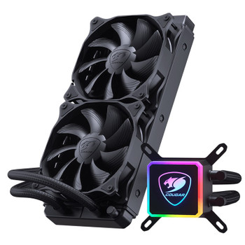 Cougar Aqua 240 RGB AIO Liquid CPU Cooler Product Image 2