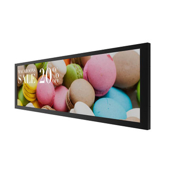 BenQ BH380 38in X-Sign Compatible High Brightness Bar-Type Display Product Image 2