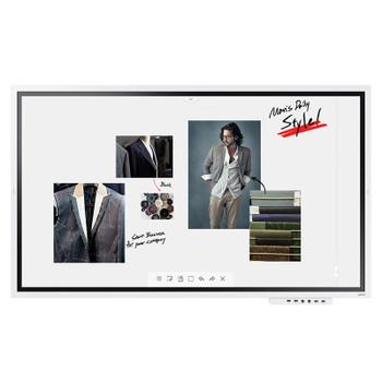Samsung Flip WM65R 65in 4K UHD Interactive InGlass Smart Digital FlipChart Product Image 2