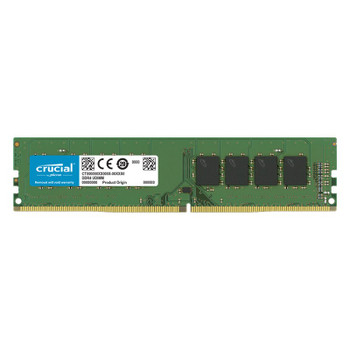 Crucial 16GB (1x 16GB) DDR4 3200MHz Memory Main Product Image