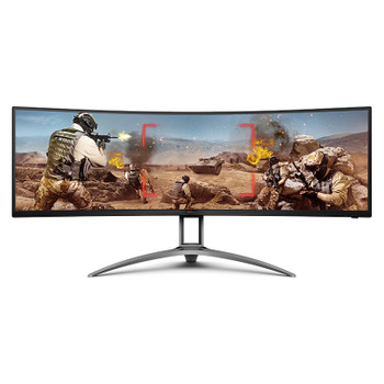Image for AOC AGON AG493UCX 49in 120Hz UWQHD FreeSync Premium Pro HDR Curved Gaming Monitor AusPCMarket