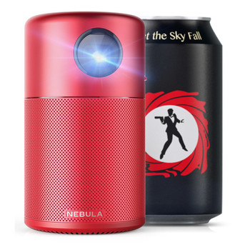 Anker Nebula Capsule FWVGA Portable Wireless DLP Projector - Limited Red Edition Product Image 2