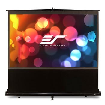 Image for Elite Screens ezCinema 80in 16:10 Floor Pull-up Projection Screen AusPCMarket