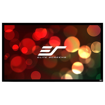 Image for Elite Screens ezFrame Acoustic 150in 16:9 Fixed Home Theater Projection Screen AusPCMarket