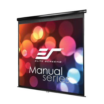Image for Elite Screens Manual 119in 1:1 Pulldown Projection Screen - Black AusPCMarket