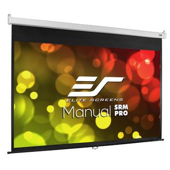 Image for Elite Screens Manual SRM Pro 120in 16:9 Fiber Glass Pulldown Projection Screen AusPCMarket