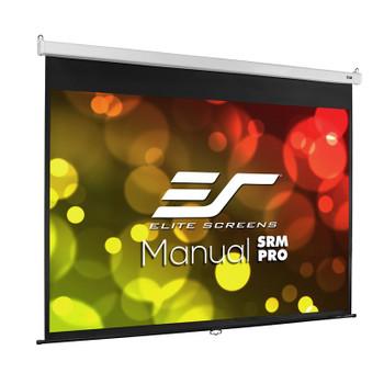 Image for Elite Screens Manual SRM Pro 120in 4:3 Fiber Glass Pulldown Projection Screen AusPCMarket