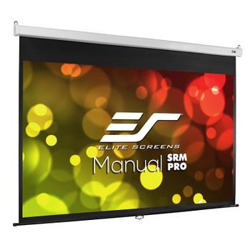Image for Elite Screens Manual SRM Pro 84in 16:10 Fiber Glass Pulldown Projection Screen AusPCMarket