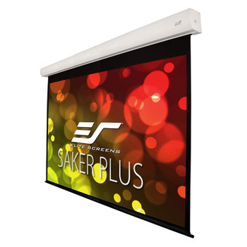 Image for Elite Screens Saker Plus 200in 16:10 Motorised Ceiling Mounted Projection Screen AusPCMarket