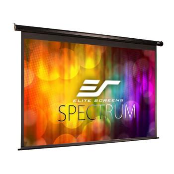 Image for Elite Screens Spectrum 106in 16:10 Motorised Projection Screen - Black AusPCMarket