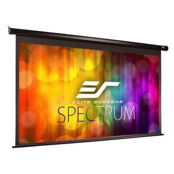 Image for Elite Screens Spectrum 84in 16:9 Motorised Projection Screen - Black AusPCMarket