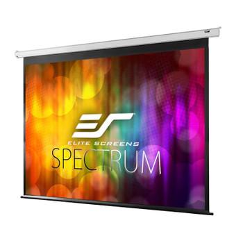 Image for Elite Screens Spectrum 90in 16:10 Motorised Projection Screen - White AusPCMarket
