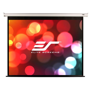 Image for Elite Screens VMAX2 100in 4:3 Motorised Home Theater Projection Screen - White AusPCMarket