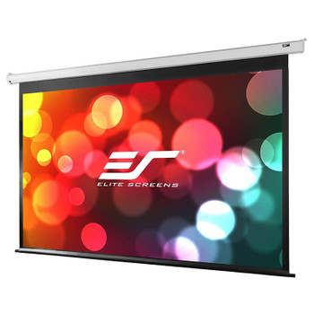 Image for Elite Screens VMAX2 110in 16:9 Motorised Home Theater Projection Screen - White AusPCMarket