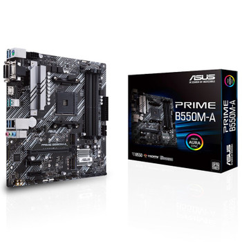 Image for Asus PRIME B550M-A AM4 Micro-ATX Motherboard AusPCMarket