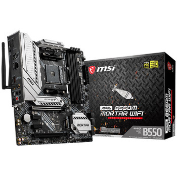 Image for MSI MAG B550M MORTAR WIFI AM4 Micro-ATX Motherboard AusPCMarket