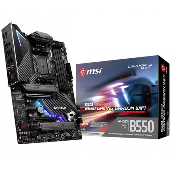 Image for MSI MPG B550 GAMING CARBON WIFI AM4 ATX Motherboard AusPCMarket