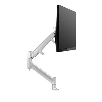 Image for Atdec Direct to Desk Single Monitor Display Mount for up to 43in - Silver AusPCMarket